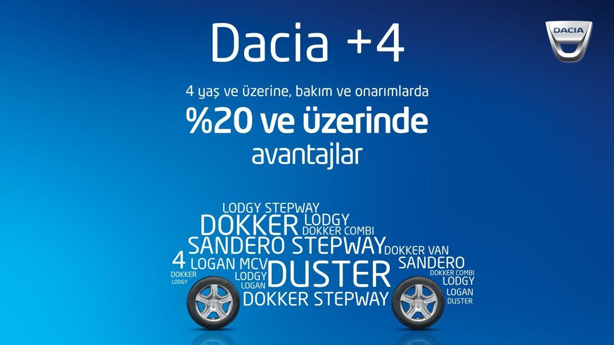 DACIA +4